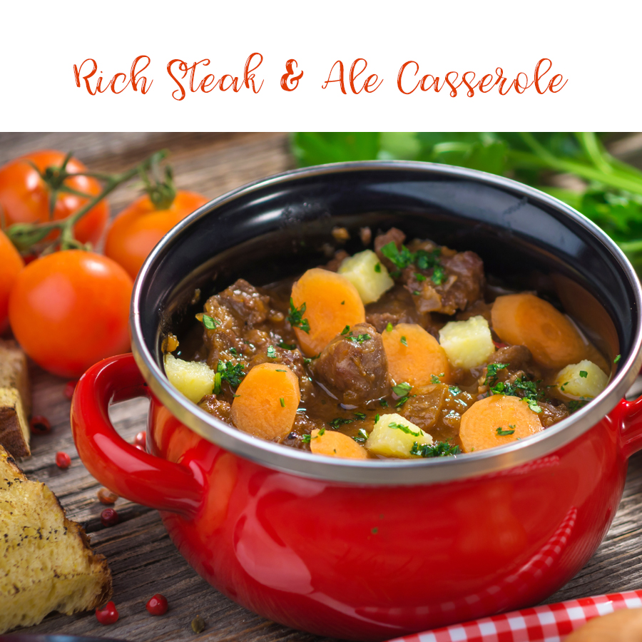 Rich Beef and Ale Casserole