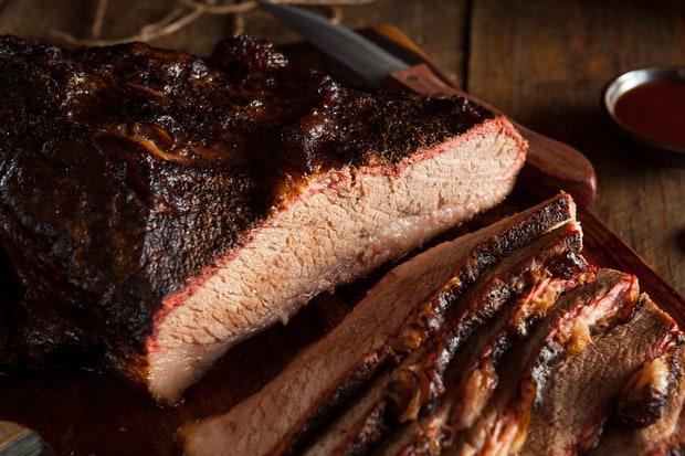 Texan BBQ brisket
